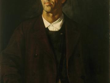 Slika Janeza Šubica Podoba očeta, ki jo hranijo v Narodni galeriji