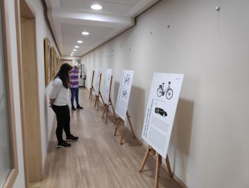 Razstava Razvoj kolesa kot prevoznega sredstva na Slovenskem v Gorenji vasi Foto: arhiv Turizma Škofja Loka