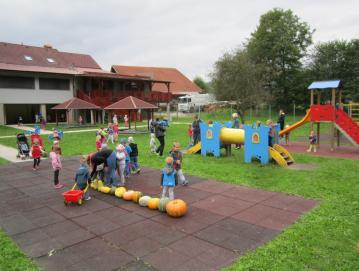 Ob tednu otroka v Vrtcu Zala Foto: Petra Homec