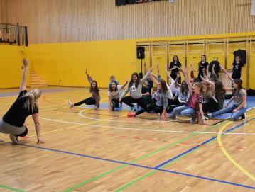 Sedmo-, osmo- in devetošolci so imeli januarja plesni športni dan. Foto: Fotografski krožek