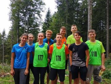 Skupinska slika ekipe PGD Poljane, ki se je udeležila tekmovanja v gasilski orientaciji. Foto: arhiv PGD Poljane