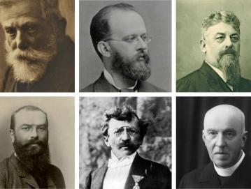 Kolaž portretov znanih Poljancev