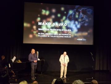 Mako Sajko je prejel nagrado Franceta Štiglica za življenjsko delo na področju filmske in televizijske režije.