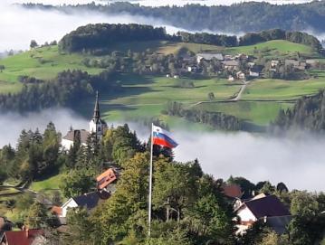 Zastava nad Javorjami Foto: arhiv KS Javorje