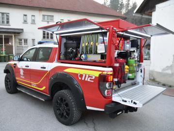 Novo vozilo gasilcev s Trebije