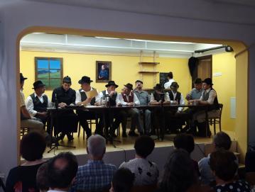 Bogat kulturni program ob 150-letnici Občine Javorje so oblikovali domačini sami. Foto: Jure Ferlan