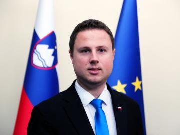 Žan Mahnič, državni sekretar za nacionalno varnost Foto: arhiv Žana Mahniča