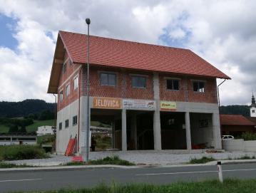 Gasilski dom v Gorenji vasi bo zgrajen predvidoma prihodnje leto. Foto: Lidija Razložnik