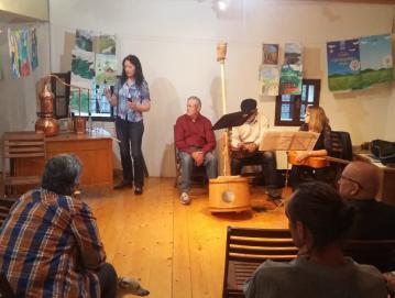 V Poljanah se je v začetku junija odvila že 20. Kolonija Iveta Šubica. Foto: Združenje umetnikov Škofja Loka