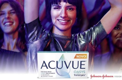 Nova kontaktna leča ACUVUE® OASYS