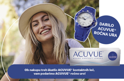 Kontaktne leče Acavue + DARILO