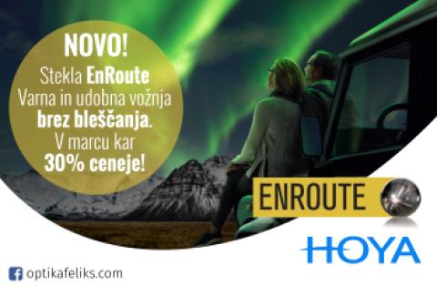 Stekla EnRoute v marcu 30% ceneje!