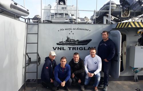 Obisk ladje Triglav in Ankaran