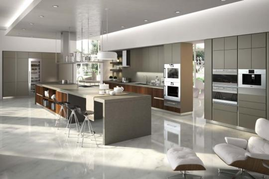 Sodobna moderna kuhinja