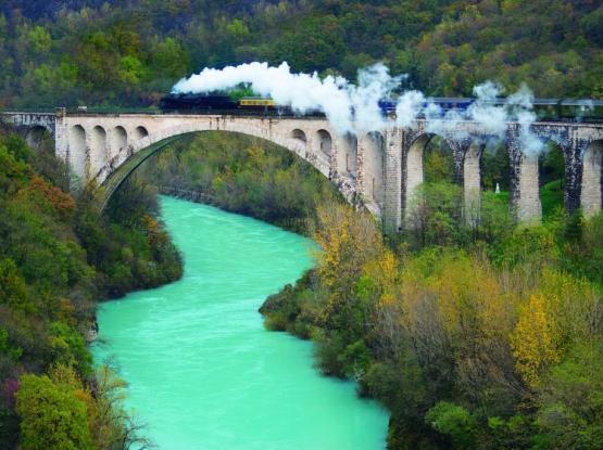 Mirko Bijuklič muzejski vlak most