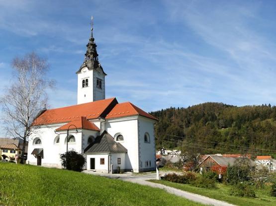 Cerkev sv. Janeza Krstnika v Gorenji vasi
