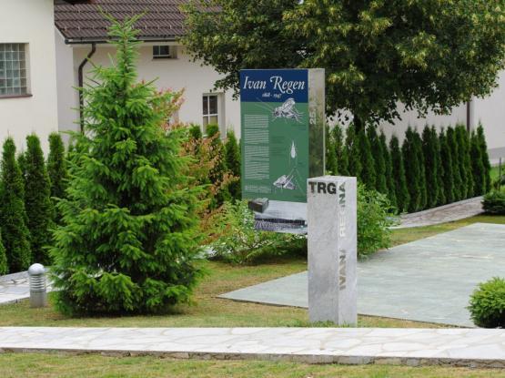 Trg Ivana Regna v Gorenji vasi
