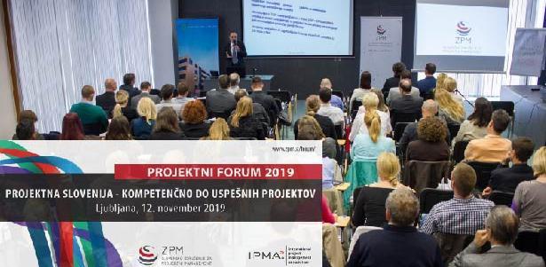 Na Projektnem forumu 2019 o projektni Sloveniji