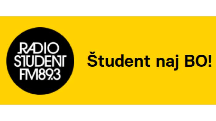 Študent naj BO! / Vir: Radio Študent