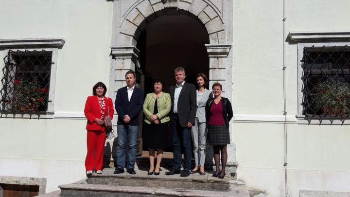 obisk ministrice za kulturo