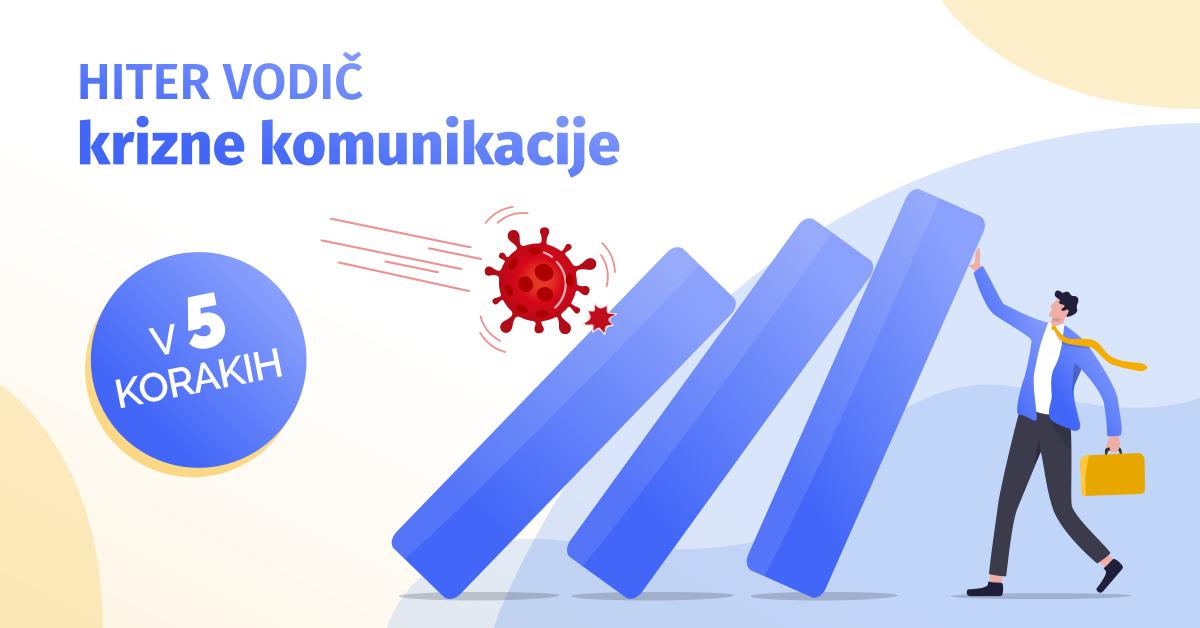 Hiter vodič krizne komunikacije v 5 korakih