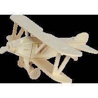 3D sestavljanka iz lesa Marabu KiDS - dvokrilec