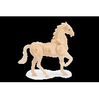 3D sestavljanka iz lesa Marabu KiDS - konj