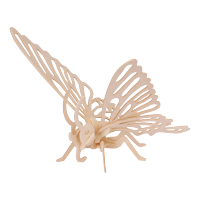 3D sestavljanka iz lesa Marabu KiDS - metulj