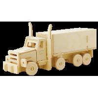 3D sestavljanka iz lesa Marabu KiDS - tovornjak