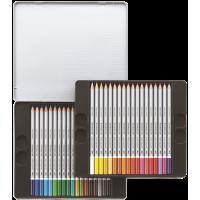 Akvarelne barvice KARAT, komplet 36 barvic