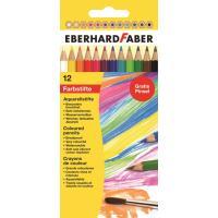 Akvarelne barvice, komplet 12 barvic, kartonska embalaža