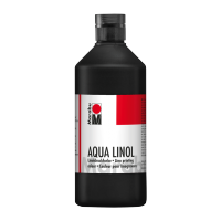 Barva za linotisk, plastenka, 500 ml