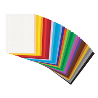 Barvni papir, 130 g, B2 (50 x 70 cm), 1 pola