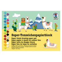 Blok barvnega papirja, 24 x 34 cm, 50 listni