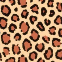 Color-Dekor 180°C, 10x20 cm, imitacija leoparda, 2 foliji
