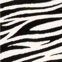 Color-Dekor 180°C, 10x20 cm, imitacija zebre, 2 foliji