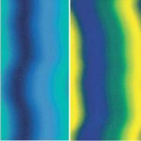 Color-Dekor 180°C, 10x20 cm, moder/zelen. preliv, 2 foliji