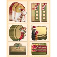 Dekorativni dodatki, Božični listki