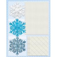 Dekorativni dodatki, snežnike in dodatki, modri