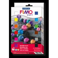 FIMO soft, komplet 12 polovičnih blokov