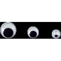 Gibljivo oko, okroglo, Ø4 - 35 mm