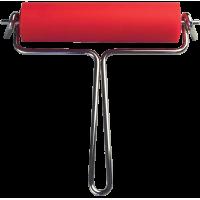 Gumiran valjček širine 120 mm, Ø30 mm