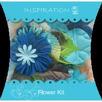 Imitacija cvetov in listov, motiv 7, 48 delni komplet
