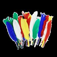 Indijanska peresa, 12 - 15 cm, mešana, 20 kosov