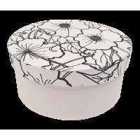 Kartonska šatulja - pobarvanka, okrogla, Ø11 x 5 cm