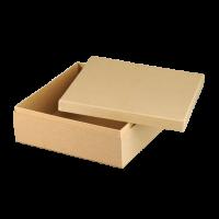 Kartonska šatulja, kvadratna, 19 x 19 x 8 cm
