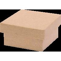 Kartonska šatulja, kvadratna, 4.5 x 4.5 x 2.5 cm