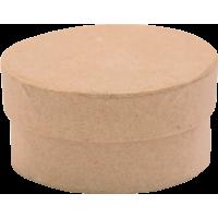 Kartonska šatulja, okrogla, Ø4.5 x 2.5 cm