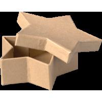 Kartonska šatulja, zvezda, 10 x 3 cm
