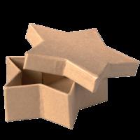 Kartonska šatulja, zvezda, 5.5 x 5.5 x 2.5 cm